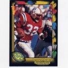 1991 Wild Card Football #076 Leonard Russell RC - New England Patriots