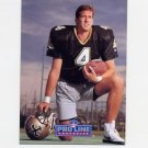 1991 Pro Line Portraits Football #133 Steve Walsh - New Orleans Saints