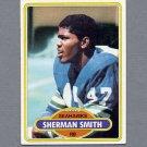 1980 Topps Football #087 Sherman Smith - Seattle Seahawks
