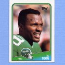 1988 Topps Football #305 Al Toon - New York Jets