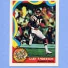 1989 Topps Football 1000 Yard Club #13 Gary Anderson - San Diego Chargers