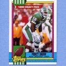 1990 Topps Football #246 Percy Snow RC - Kansas City Chiefs