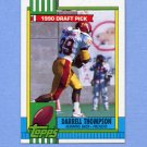 1990 Topps Football #155 Darrell Thompson RC - Green Bay Packers