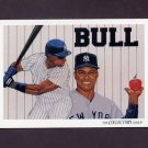 1993 Upper Deck Baseball #839 New York Yankees Team Checklist / Danny Tartabull