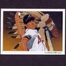 1993 Upper Deck Baseball #816 Atlanta Braves Team Checklist / Steve Avery