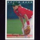 1993 Upper Deck Baseball #728 Tracy Woodson - St. Louis Cardinals