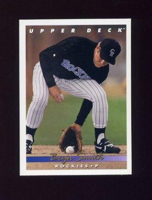 1993 Upper Deck Baseball #723 Bryn Smith - Colorado Rockies
