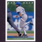 1993 Upper Deck Baseball #637 Manuel Lee - Texas Rangers