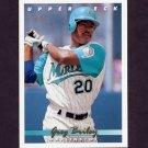 1993 Upper Deck Baseball #634 Greg Briley - Florida Marlins
