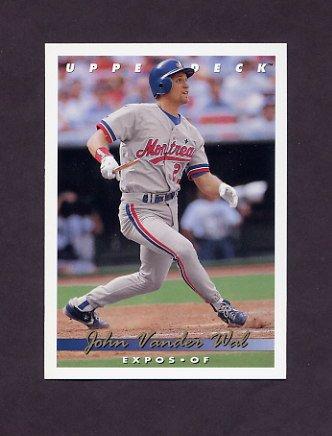 1993 Upper Deck Baseball #619 John Vander Wal - Montreal Expos