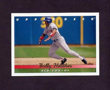 1993 Upper Deck Baseball #618 Billy Hatcher - Boston Red Sox