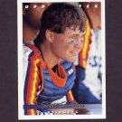 1993 Upper Deck Baseball #613 Scott Servais - Houston Astros