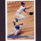 1993 Upper Deck Baseball #612 Rey Sanchez - Chicago Cubs