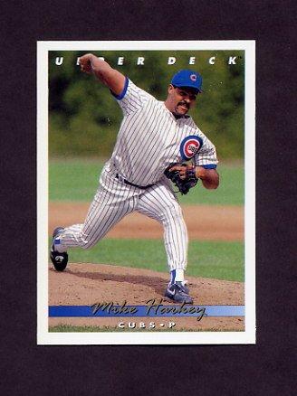1993 Upper Deck Baseball #610 Mike Harkey - Chicago Cubs