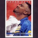 1993 Upper Deck Baseball #563 Greg Vaughn - Milwaukee Brewers