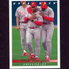 1993 Upper Deck Baseball #558 Milt Thompson - Philadelphia Phillies