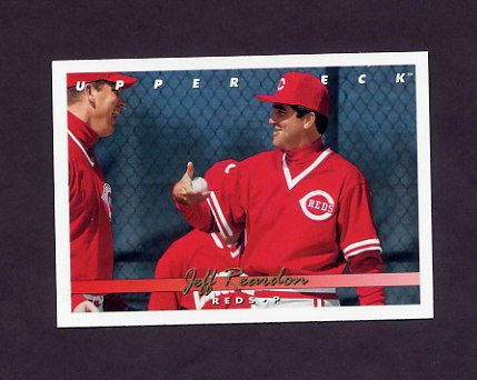 1993 Upper Deck Baseball #541 Jeff Reardon - Cincinnati Reds