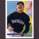 1993 Upper Deck Baseball #529 Jeff Parrett - Colorado Rockies