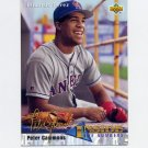 1993 Upper Deck Baseball #467 Eduardo Perez IN - California Angels