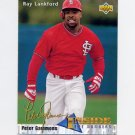 1993 Upper Deck Baseball #461 Ray Lankford IN - St. Louis Cardinals