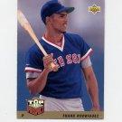 1993 Upper Deck Baseball #442 Frankie Rodriguez - Boston Red Sox