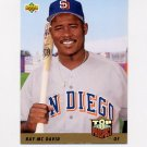 1993 Upper Deck Baseball #438 Ray McDavid RC - San Diego Padres