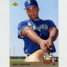 1993 Upper Deck Baseball #434 Marc Newfield - Seattle Mariners