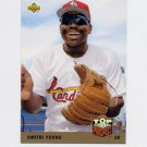 1993 Upper Deck Baseball #428 Dmitri Young - St. Louis Cardinals