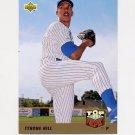 1993 Upper Deck Baseball #427 Tyrone Hill - Milwaukee Brewers