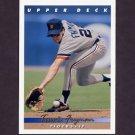 1993 Upper Deck Baseball #364 Travis Fryman - Detroit Tigers