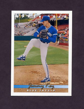 1993 Upper Deck Baseball #358 Jimmy Key - Toronto Blue Jays