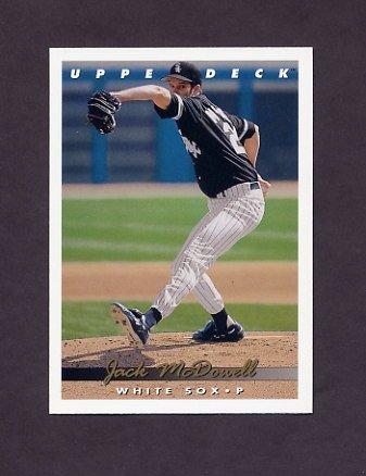 1993 Upper Deck Baseball #357 Jack McDowell - Chicago White Sox