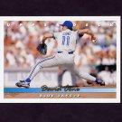 1993 Upper Deck Baseball #335 David Cone - Toronto Blue Jays