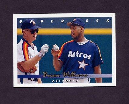 1993 Upper Deck Baseball #286 Brian Williams - Houston Astros