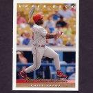 1993 Upper Deck Baseball #267 Wes Chamberlain - Philadelphia Phillies