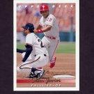 1993 Upper Deck Baseball #249 Stan Javier - Philadelphia Phillies