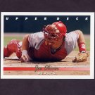 1993 Upper Deck Baseball #234 Joe Oliver - Cincinnati Reds