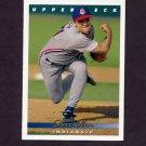 1993 Upper Deck Baseball #206 Steve Olin - Cleveland Indians