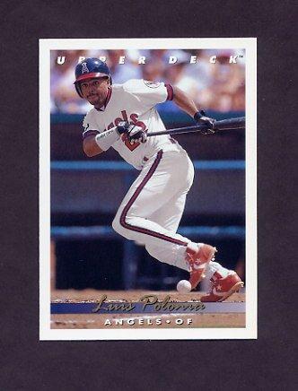 1993 Upper Deck Baseball #178 Luis Polonia - California Angels