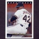 1993 Upper Deck Baseball #170 Mike Jackson - San Francisco Giants