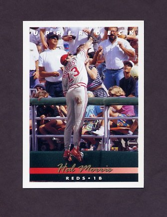 1993 Upper Deck Baseball #121 Hal Morris - Cincinnati Reds