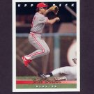 1993 Upper Deck Baseball #107 Bill Doran - Cincinnati Reds