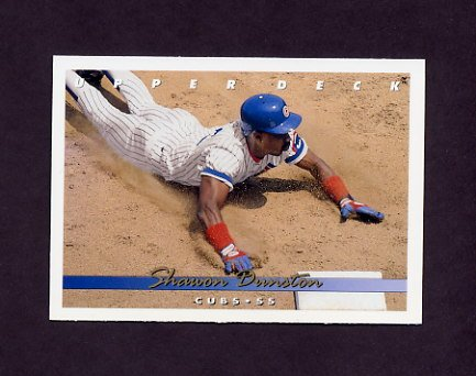 1993 Upper Deck Baseball #101 Shawon Dunston - Chicago Cubs