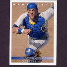 1993 Upper Deck Baseball #100 Dave Valle - Seattle Mariners