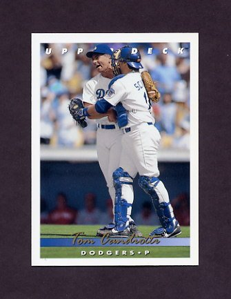 1993 Upper Deck Baseball #098 Tom Candiotti - Los Angeles Dodgers