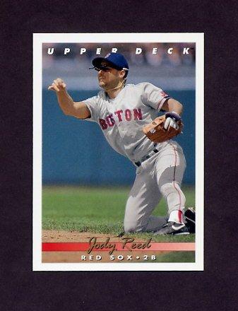 1993 Upper Deck Baseball #096 Jody Reed - Boston Red Sox