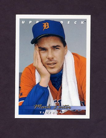1993 Upper Deck Baseball #095 Mark Leiter - Detroit Tigers