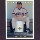 1993 Upper Deck Baseball #088 Mark Lewis - Cleveland Indians