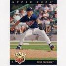 1993 Upper Deck Baseball #028 Mike Trombley - Minnesota Twins
