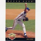 1993 Upper Deck Baseball #010 Joe Vitko - New York Mets